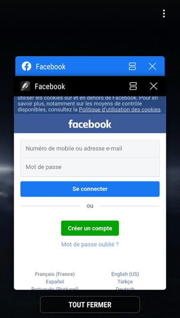 parola Facebook