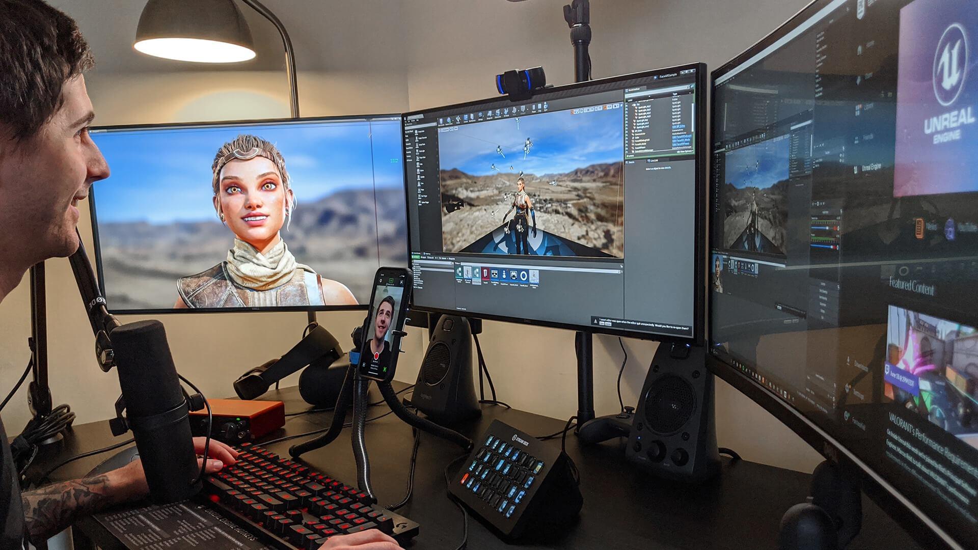 face link desk