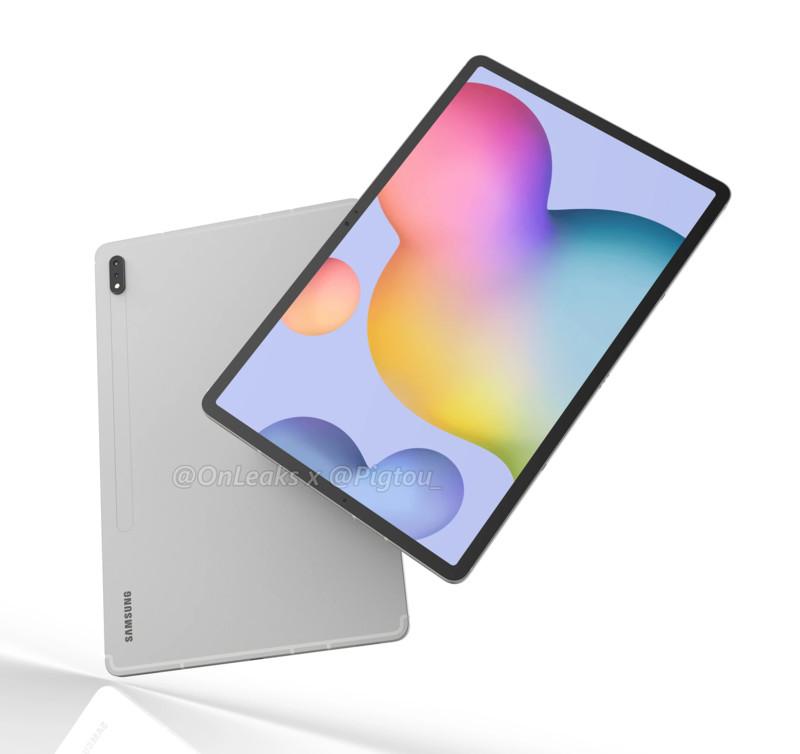 Galaxy Tab S7+, rivalul iPad Pro pregătit de Samsung, primește specificații neoficiale
