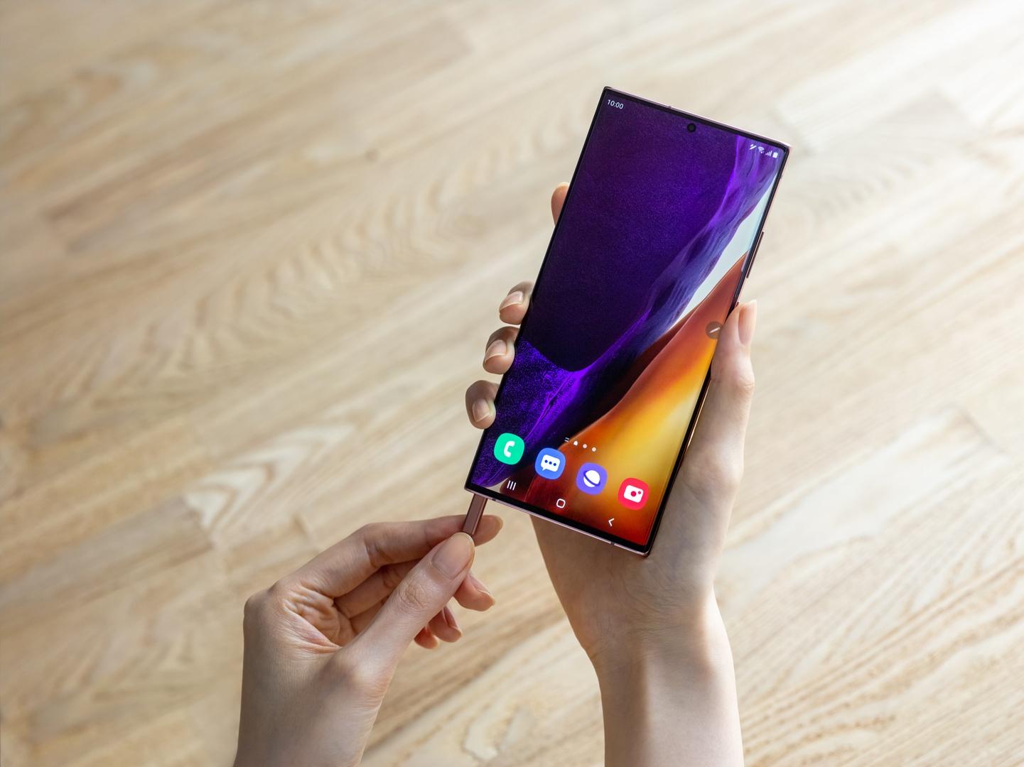 Galaxy Note20 Ultra s-pen