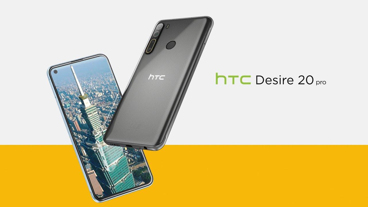 HTC Desire 20 Pro, lansat oficial în câteva țări europene