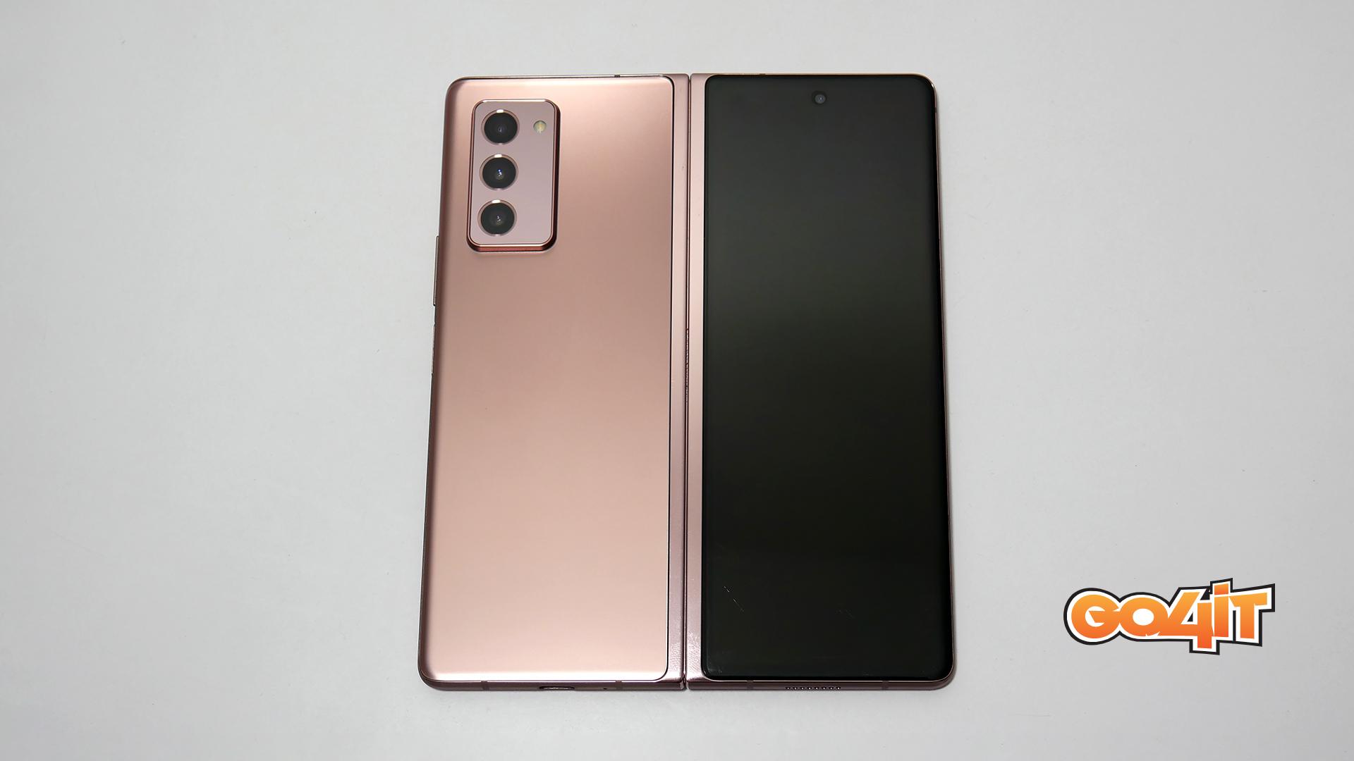 Samsung Galaxy Z Fold2 unfolded
