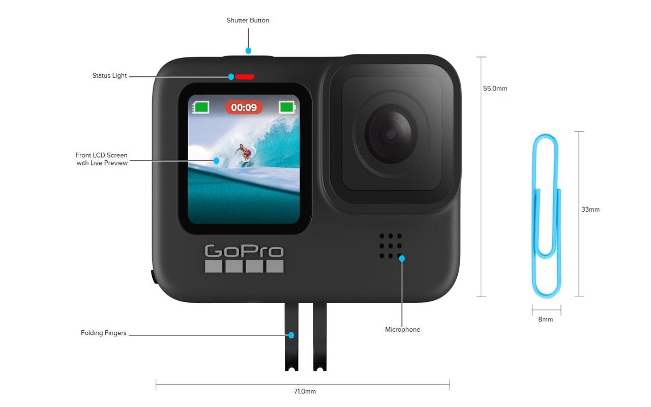 GoPro anunță Hero 9 Black, o cameră de acțiune 5K