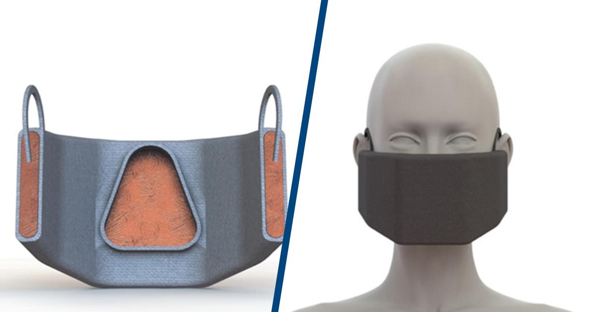 Masca de protecție inspirată de catalizatorul auto, promite să inactiveze COVID-19 fără ajutor extern