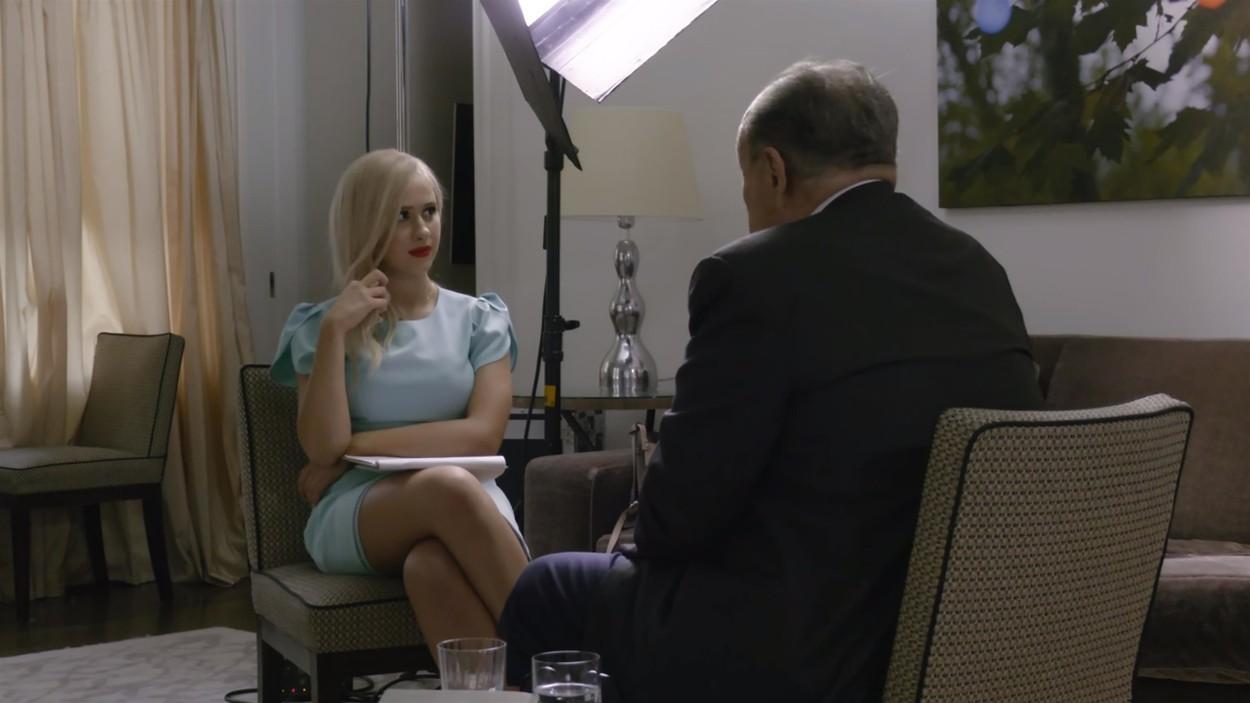 Cine este actrița bulgară care o interpretează pe fiica lui Borat și femeia din mijlocul scandalului Giuliani?