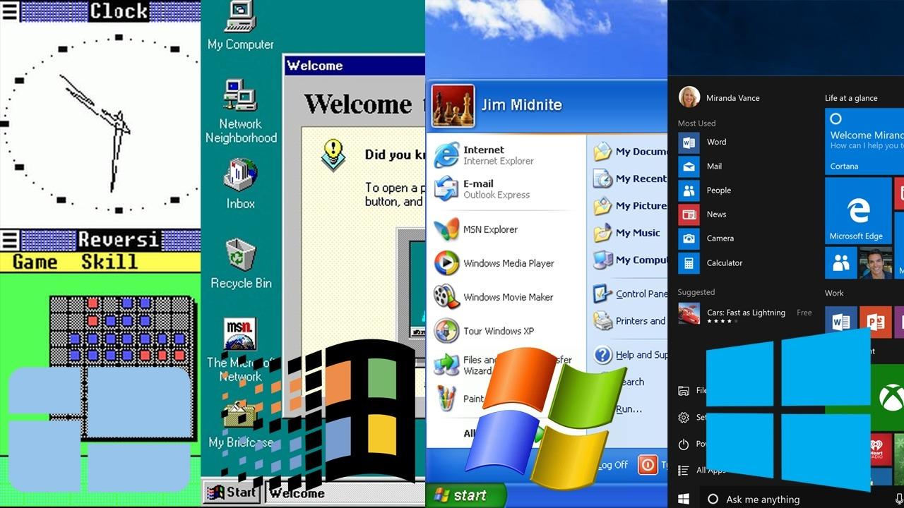 Sistemul de operare Windows a împlinit 35 de ani