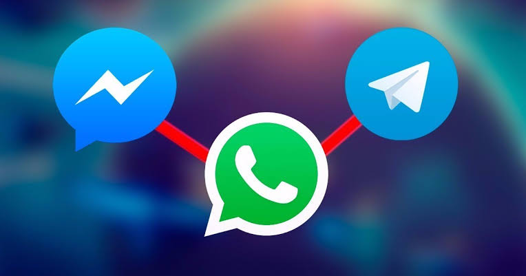 WhatsApp Telegram Messenger