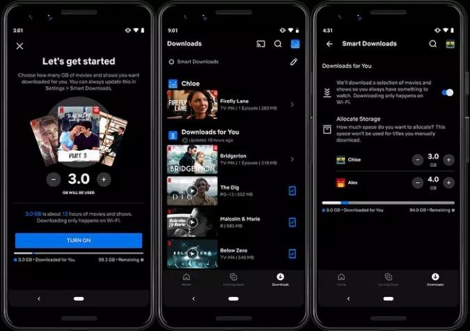 Netflix va descărca automat filme și seriale pe telefonul tău în baza algoritmului