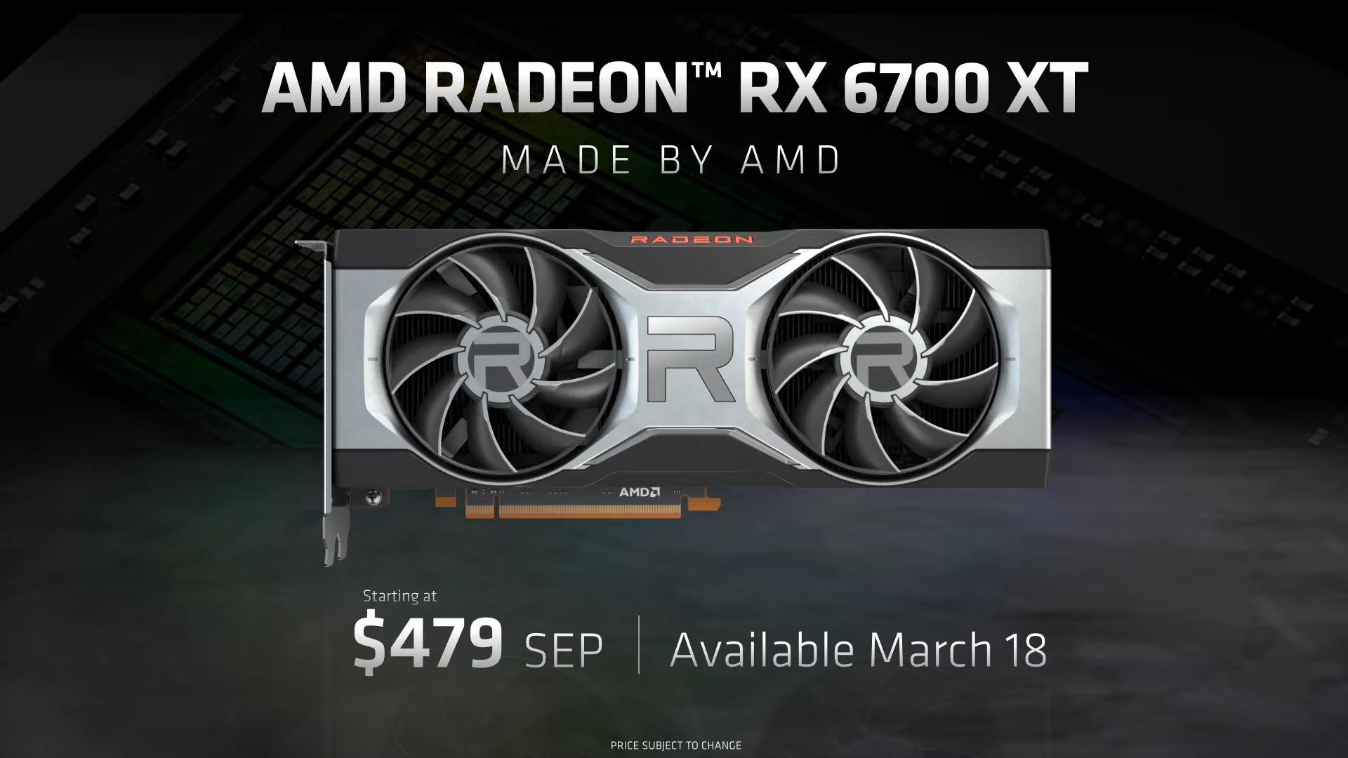 rx 6700 xt price