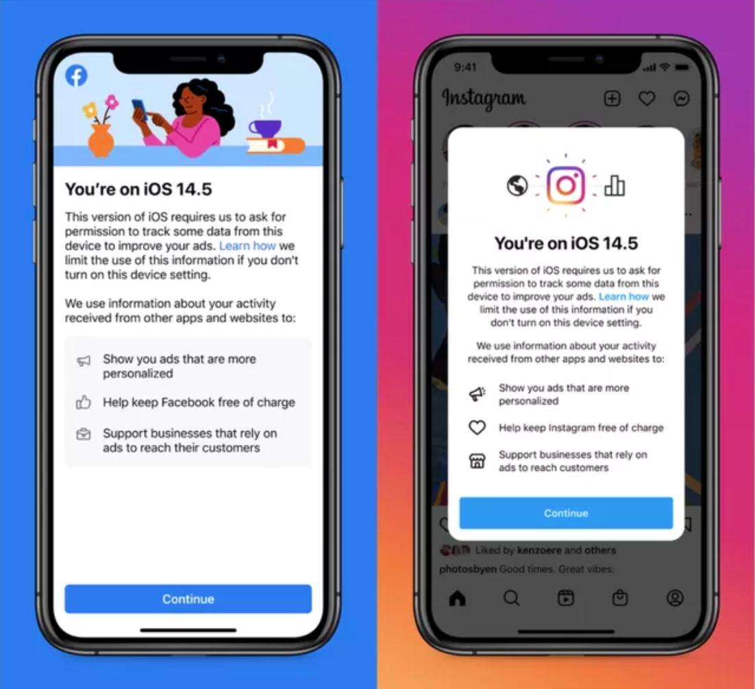 ios 14.5 facebook iphone