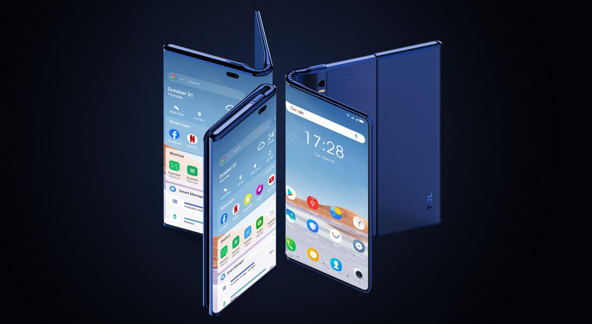 Un producător chinez promite să creeze primul telefon cu ecran rulabil și pliabil