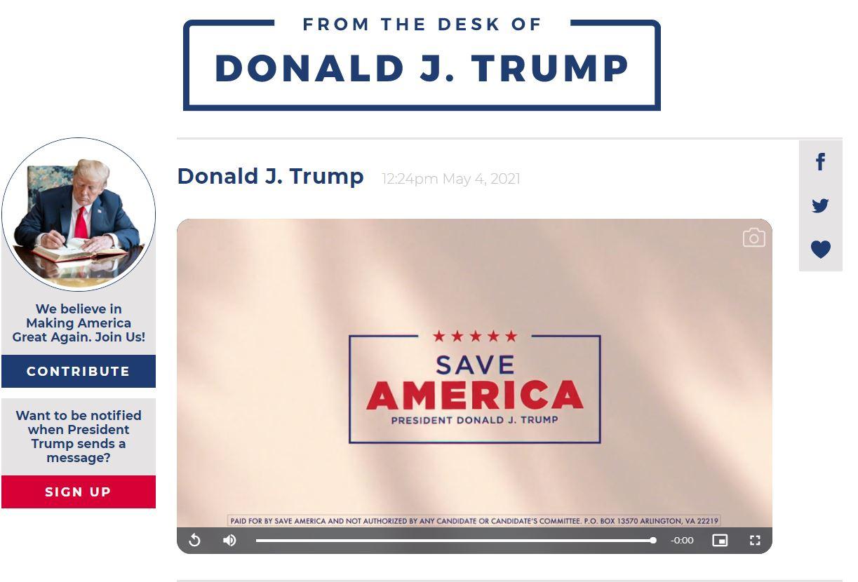 """Donald Trump și-a lansat propriul """"Twitter"""", pe care doar el poate posta"""