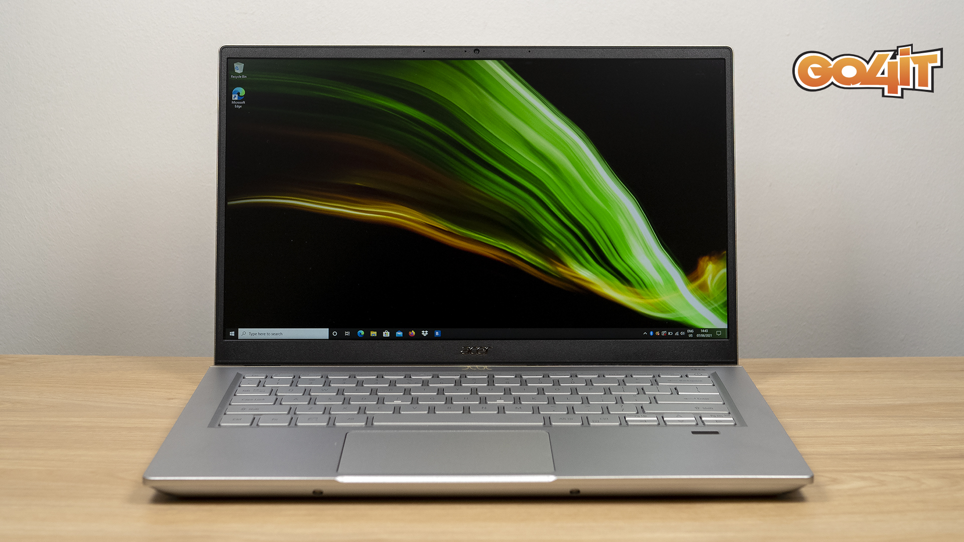 Acer Swift X (SFX14-41G-R2DS) review: ultra portabil cu GPU dedicat