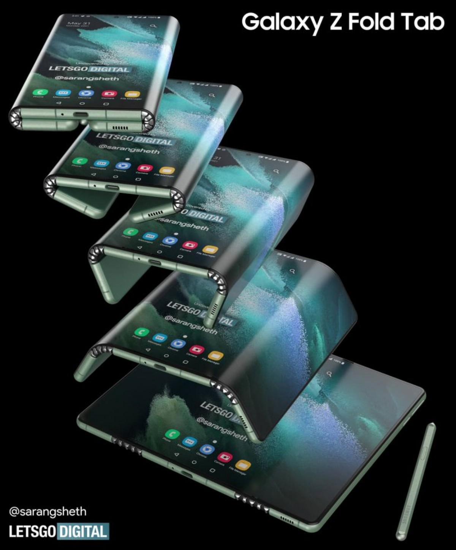 Ficha Samsung Z Fold