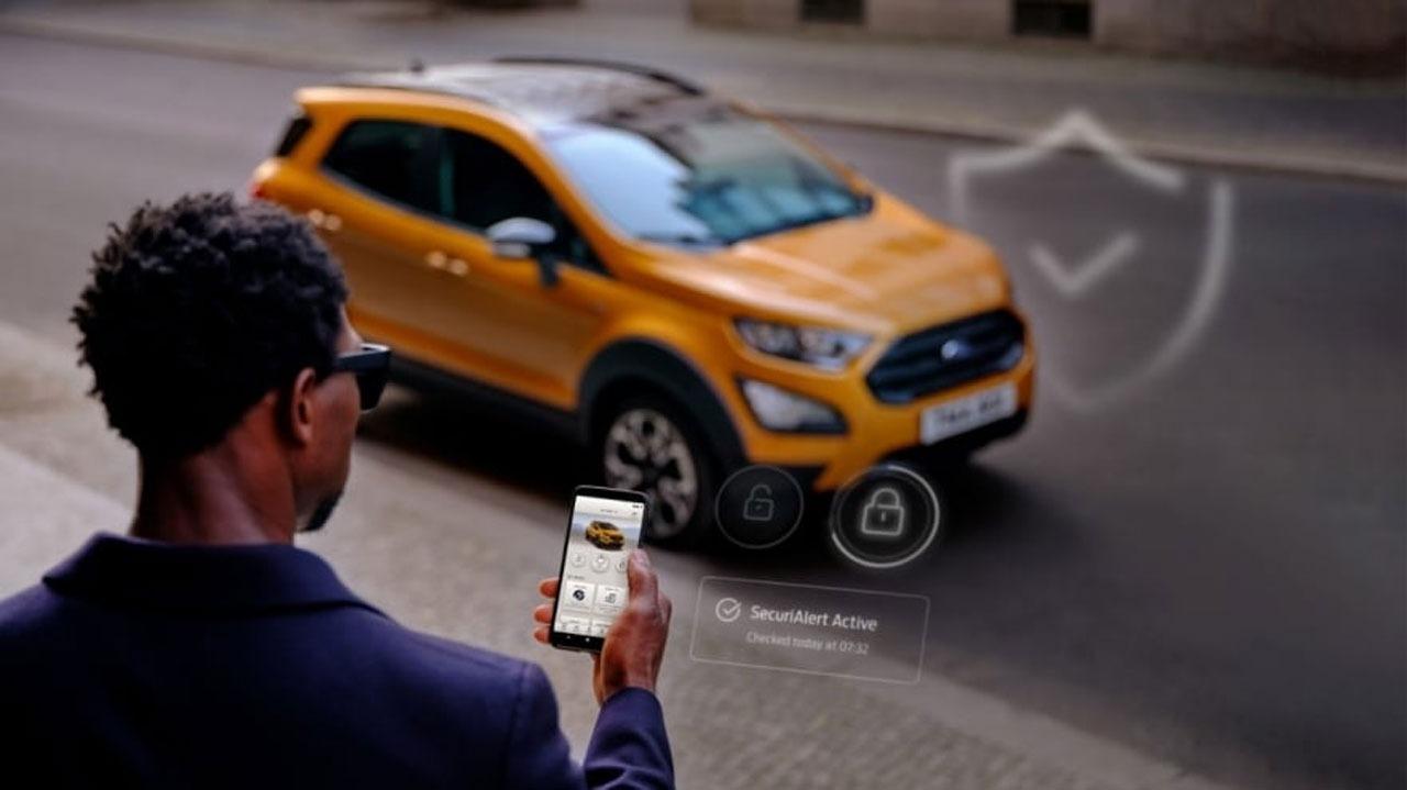 Mașinile Ford te pot avertiza prin smartphone atunci când detectează o tentativă de a fi furate