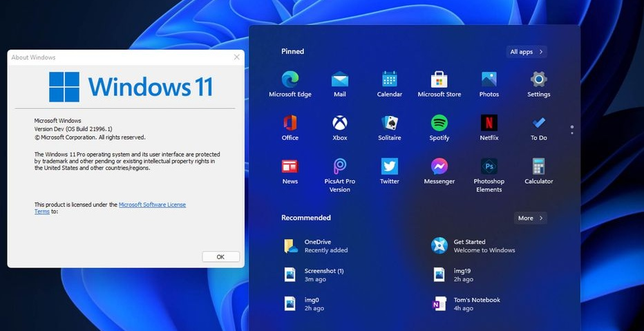 Cum arată Windows 11, noul sistem de operare de la Microsoft care înlocuiește Windows 10