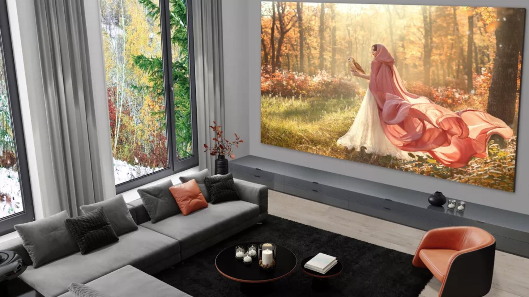 Cel mai mare televizor LG are 335 inch în diagonală și ecran microLED. Cât costă?